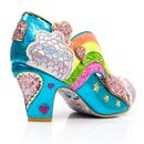 Summer Of Love IRREGULAR CHOICE Rainbow Heels B