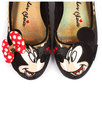Why Hello! IRREGULAR CHOICE Mickey & Minnie Shoes
