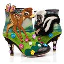 Irregular Choice Disney's Bambi Woodland Playtime Flower Boots