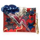 Irregular Choice Ziggy Stardust David Bowie Pouch