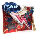 Ziggy IRREGULAR CHOICE 70s Retro Bowie Clutch Bag
