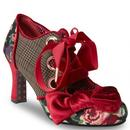 Joe Browns Couture Retro Vintage Tweed Ruby Shoes