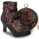 Victoria JOE BROWNS Vintage Brocade Velvet Boots