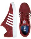 Court Cheswick K-SWISS Suede 70s Tennis Trainers O