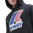 Loki K-WAY Retro Indie Macro Logo Hoodie BD