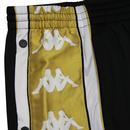Banda Arpan KAPPA Retro Popper Pants Black/Gold