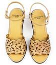 Danielle Cutouts LACEYS Retro 60s Floral Sandals N