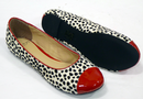 Fable Toecap LACEYS Retro Sixties Indie Flat Shoes