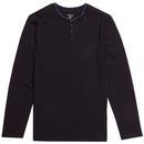 LACOSTE Retro Henley Collar Loungewear Tee NB