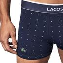 + LACOSTE 3 Pack Lacoste Letter Print Trunks N/R/B