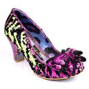 Lady Ban Joe IRREGULAR CHOICE Zebra Heels G/P
