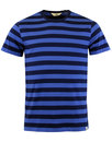 LEE Men's Retro Mod Bold Stripe Crew Neck Tee N/B