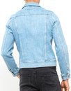 LEE Rider Retro Mod Western Denim Snap Jacket