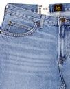 90's Rider LEE Light Blue Stonewash Denim Jeans