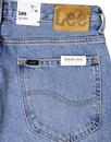 90's Rider LEE Light Blue Stonewash Denim Jeans