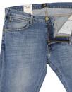 Luke LEE Slim tapered Light Shade Denim jeans