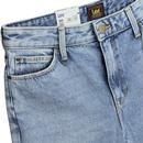 Mom Straight LEE Curved High Waist Jeans GASLIGHT