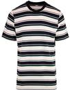 LEE Retro Indie Multi-Stripe Crew Neck T-Shirt