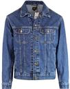 lee rider dark stonewash nineties denim jacket