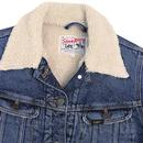 LEE JEANS Women's Storm Rider Sherpa Denim Jacket