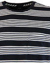 LEE Retro Indie Mod Block Stripe Pocket T-Shirt