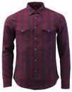 lee western shirt tawny mod