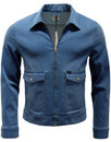 LEE Men's Retro 70s Mod Denim Zip Through Jacket