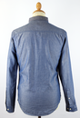 LEE Slim Fit Retro Mod Western Chambray Shirt (I)