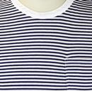 LEE Jeans Retro Indie Striped Mod Pocket T-shirt B