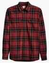 LEVI'S Jackson Retro Plaid Check Worker Shirt (RD)