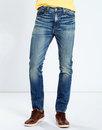 levis 510 mens retro mod skinny denim jeans eric