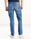 LEVI'S® 511 Men's Retro Slim Denim Jeans WALKER