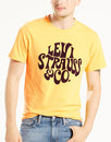 LEVI'S® Retro 60s Psychedelic Logo T-Shirt YELLOW