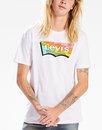 LEVI'S® Housemark Batwing Logo Psychedelic Tee (W)