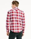 Barstow LEVI'S® Retro Check Western Shirt CHERRY