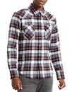 levis barstow retro flannel check western shirt