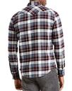 Barstow LEVI'S Retro Flannel Check Western Shirt
