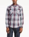 Barstow LEVI'S® Retro 70s Mens Western Check Shirt