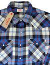 Barstow LEVI'S® Retro Plaid Check Western Shirt