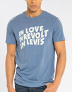 LEVI'S® In Love In Revolt In Levi's Retro Tee BLUE