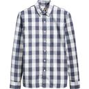 levis mens retro mod block check no pocket shirt