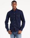 LEVI'S® Retro Sawtooth Denim Western Shirt INDIGO