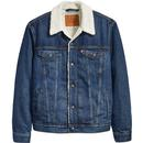 Levi's Type 3 Sherpa Denim Jacket in Palmer