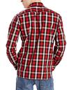 Sunset LEVI'S Retro Mod 1 Pocket Check Shirt (CB)