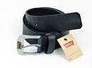 LEVI'S BLACK LEATHER BELT NEW LEGEND BELT
