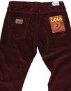 New Dallas LOIS Retro Mod Jumbo Cord Trousers (Au)