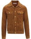 lois tejana western jumbo corduroy jacket brown