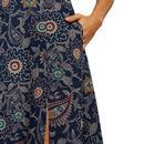 Aubrey Dreamcatcher LOUCHE Retro Floral Dress NAVY