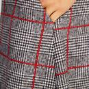 Lamont LOUCHE LONDON 60s Mod POW Check Pleat Skirt