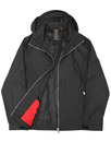 Everyorder LUKE 1977 Retro Mod Hooded Jacket BLACK